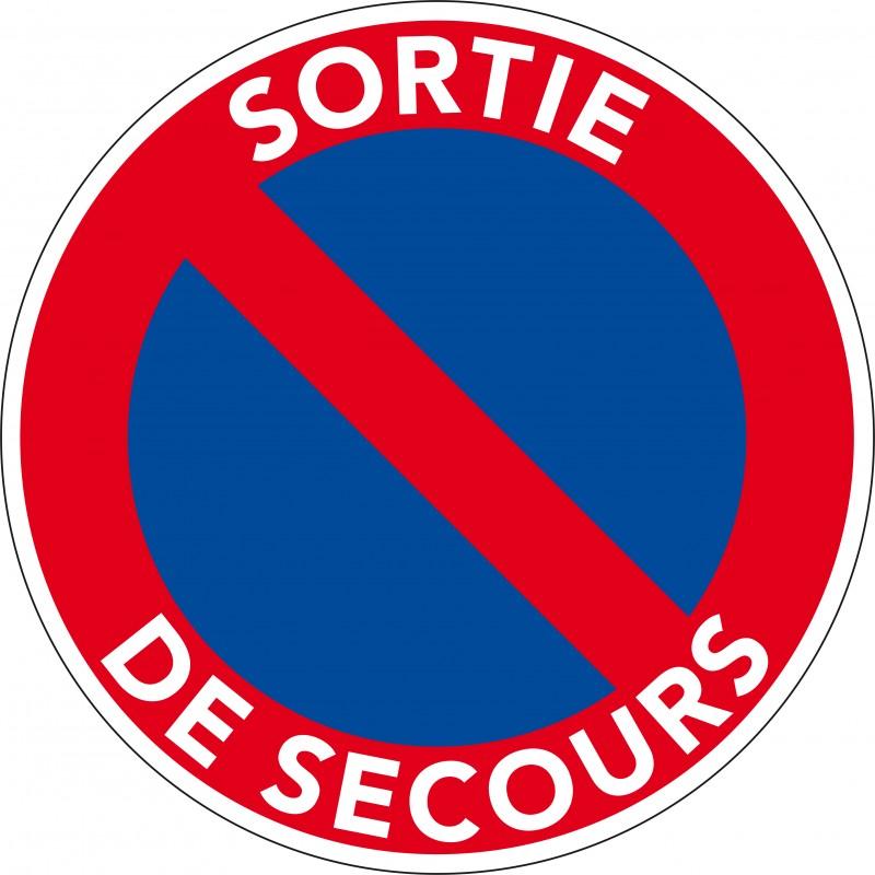 Panneau Interdit De Stationner : panneau sortie de secours panneau stationnement interdit ~ Dailycaller-alerts.com Idées de Décoration