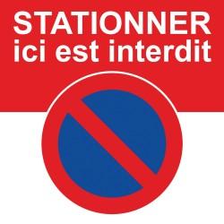 Le stationnement est interdit à cet endroit