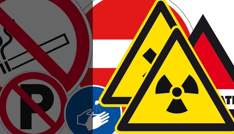 Panneaux et autocollants de signalisation